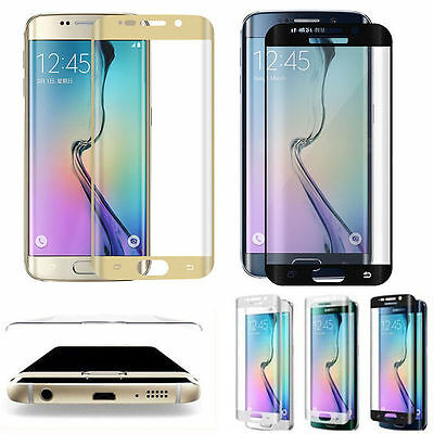 For Samsung Galaxy S7 Edge Temper Glass Full Cover Curved Screen Protector