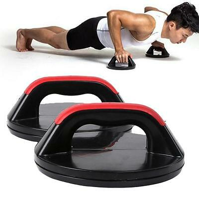 Hot Professional Push Up Pro Rotating Grips Upper Body Gym Fitness Strength Ws