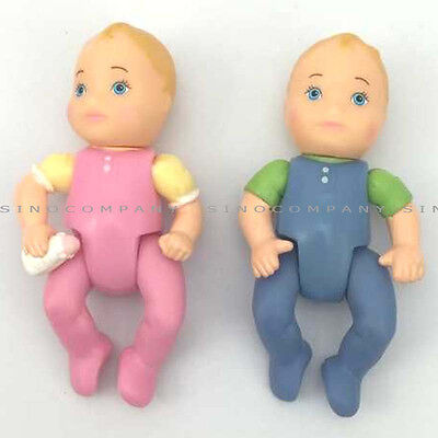 New Gift Toys Fisher Price Loving Family Twin Little Baby Brother & Sister Set