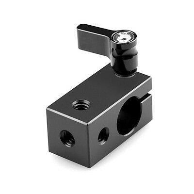 "15mm Rod Clamp RailBlock with Female 1/4"" Thread Fr 15mm Rig Rail System"