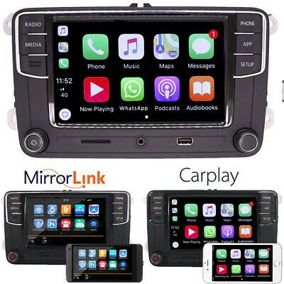 "6.5"" VW Autoradio RCD330 CarPlay  Bluetooth Für VW Golf 5 6 Passat touran T5seat"