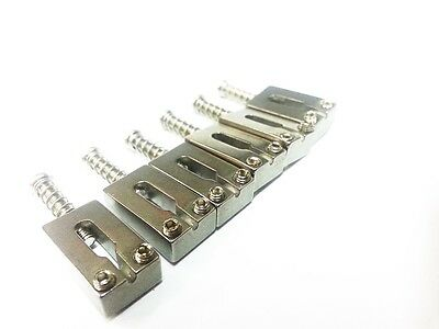 Solid Quality Upgrade Stainless Steel Saddles For Strat Stratocaster  (6)