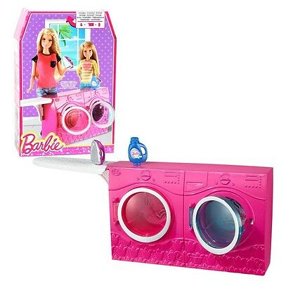 Barbie - Furniture Furnishing - Washer & Dryer with Accessories Laundry Room