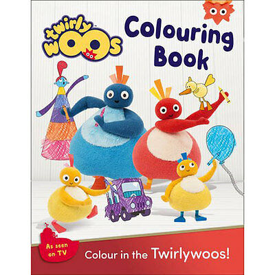 Twirlywoos Colouring Book (Paperback), Children's Books, Brand New