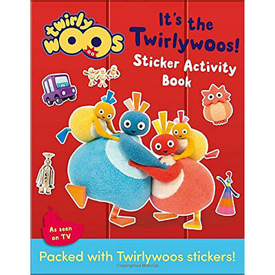 Its The Twirlywoos Sticker Activity Book (Paperback), Children's Books, New