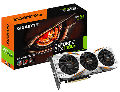 Gigabyte GeForce GTX 1080 Ti 11GB Gaming OC Boost Graphics Card