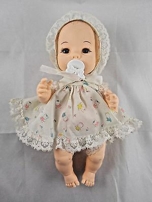 """Playmates Fuss a Lot Baby Doll 10"""" 1981 NOT WORKING"""