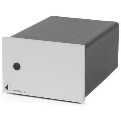 PRO-JECT Amp Box DS Stereo-Endverstärker in silber power amplifier silver 2x180W
