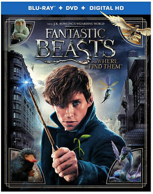 Fantastic Beasts And Where To Find Them Used - Very Good Blu-Ray/dvd