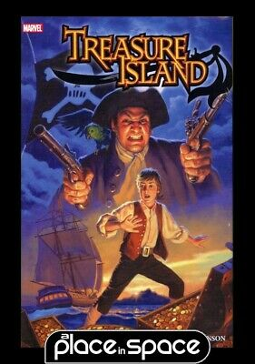 Marvel Illustrated Treasure Island Prem - Hardcover