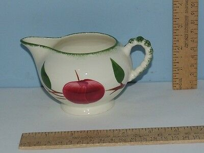 Quaker Apple pattern - Creamer - Blue Ridge / Southern Potteries - unmarked
