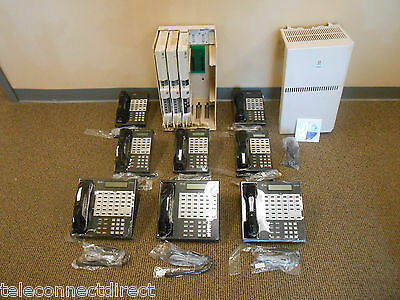 Avaya Lucent AT&T Partner Business Office Phone System 8 phones