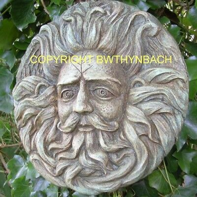 New Latex Mould Mold Pagan Wiccan Celtic Sun God Medusa ,greenman Wall Plaque