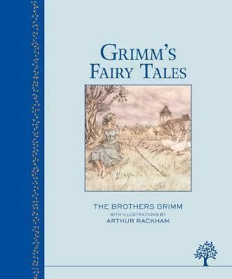 Grimms Fairy Tales by Brothers Grimm (English) Hardcover Book Free Shipping!