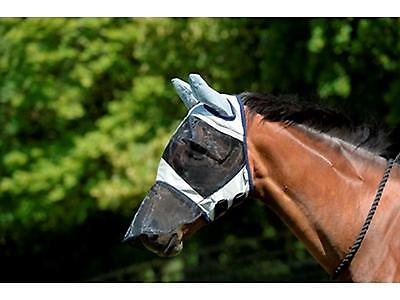 Masta Fly Mask with Nose and Ears FULL flies UV Protection