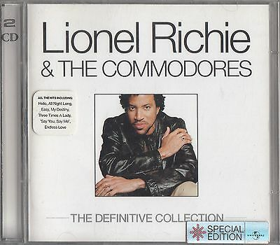 Lionel Richie & Commodores- The Definitive Collection 2-CD Best of/Greatest Hits