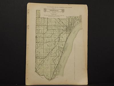 Wisconsin, Trempealeau County Map South Part 1930 Y8#02