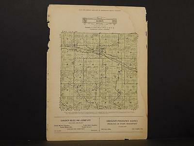 Wisconsin, Trempealeau County Map Albion Township 1930 Y8#21