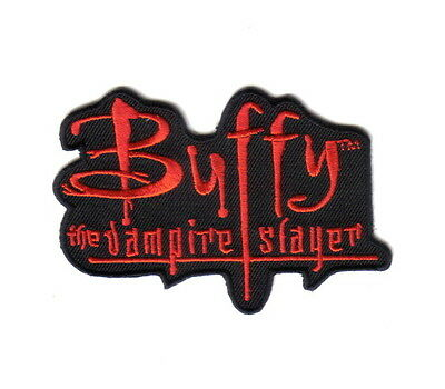 Buffy The Vampire Slayer TV Series Name Logo Embroidered Patch NEW UNUSED