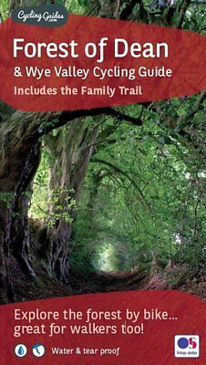 Forest of Dean and Wye Valley Cycling Guide - map