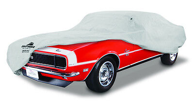 1967-1968 Chevrolet Camaro Custom Fit Grey Soft Cotton Plushweave Car Cover: NEW
