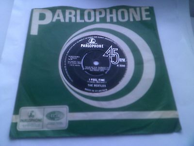 The Beatles I Feel Fine Rare 1964 1st UK 1N/1N Matrix Parlophone R 5200