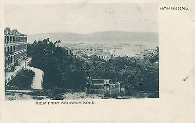 Postcard Hong Kong China View from Kennedy road pictorial postcard co  32