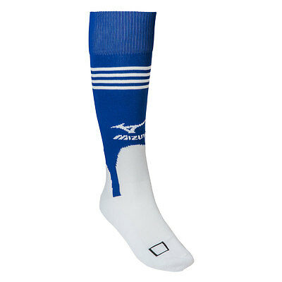 Mizuno Performance Baseball/Softball Stirrup Socks - White/Royal - Small