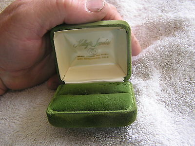 Vintage Ring Box Kelley's Jewelers San Bernardino  California