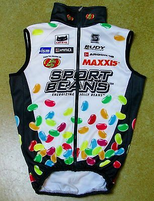 Jelly Belly Pro Cycling Team Thermal Winter Vest by Squadra - Men's Size XS