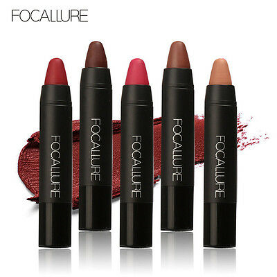 12 Colors FOCALLURE Matte Lipstick Pen Waterproof Lasting Lip Gloss Cosmetic New