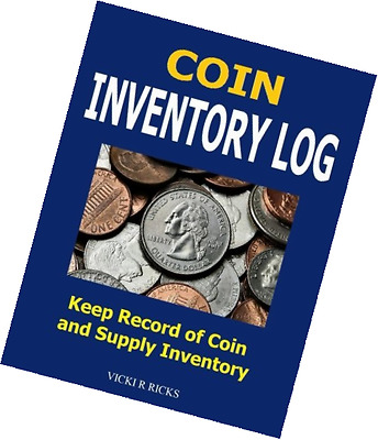 Coin Inventory Log: Coin Collectors inventory log for coins and supplies.