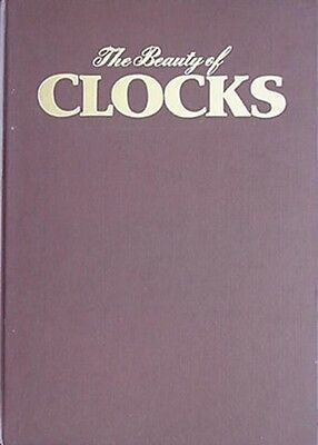 The Beauty Of Clocks, Big 1979 Book (Many Color Photos