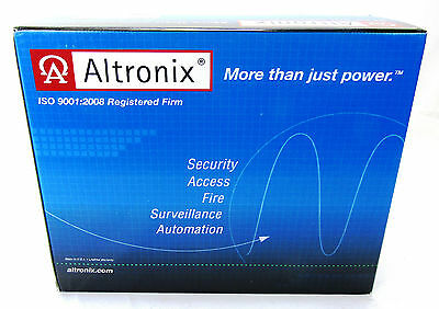 NEW Sealed Altronix ACM8E Access Power Controller w/ Fire Alarm Interface