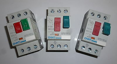 Chint NS8 Manual Motor Starter - Ranges from 0.1 - 80
