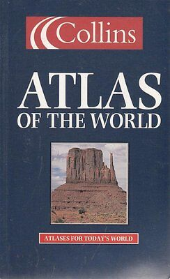 Good, COLLINS ATLAS OF THE WORLD., No Author., Book