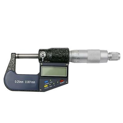 "Digital Electronic Micrometer Outside 0-1""/0.00005"" X-Large LCD Carbide"