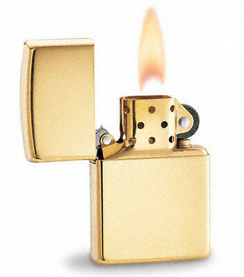 Zippo 195 18K Solid Gold Lighter In Cherrywood Box New In Box Limited Edition