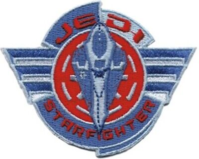 Star Wars Clone Wars Starfighter Logo Embroidered Patch, NEW UNUSED