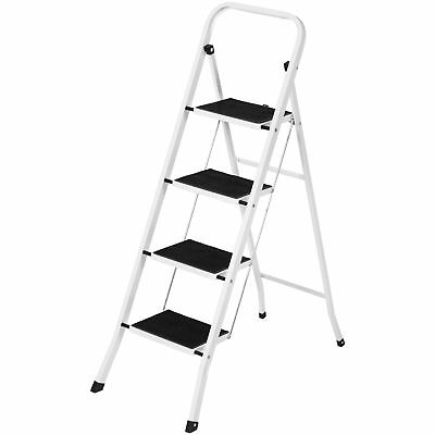Best Choice Products Folding Portable Steel 4 Step Ladder