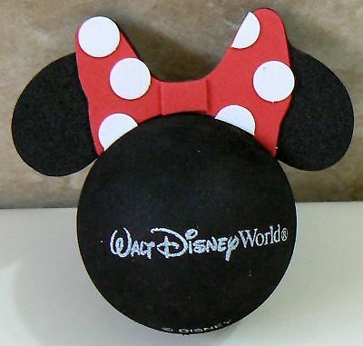 "DISNEY MINNIE MOUSE RED POLKA DOT BOW CAR ANTENNA AERIAL TOPPER BALL - NEW ""o"""