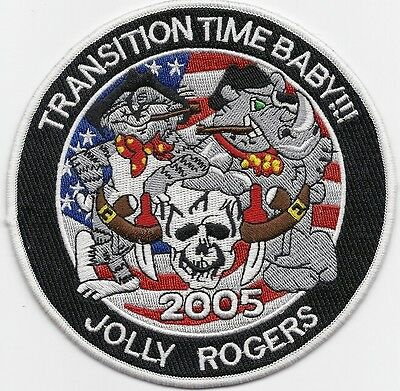 F-14 Tomcat Jolly Rogers Transition Time Baby! patch
