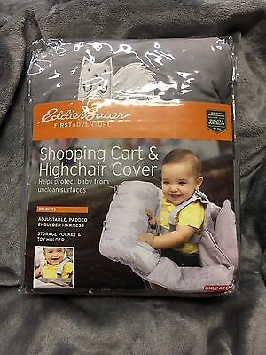 New Eddie Bauer Shopping Cart & Highchair Cover / Free Priority Shipping!!