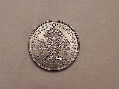 Great Britain, 1944, 2 Shilling lot#P352