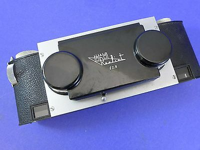 Stereo Realist f2.8 camera - late model German lenses - serviced by DRT