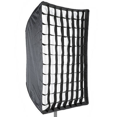 Neewer  Softbox de Speedlite Difusor Paraguas Rectangular con Rejilla