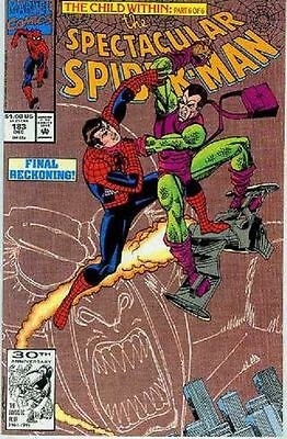 Peter Parker Spectacular Spiderman # 183 (Green Goblin appearance) (USA, 1991)