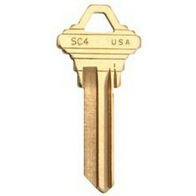 Kaba Ilco SC4 TAYLOR Sc4 Schlage Key Blank 50 Pack NEW