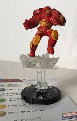 HeroClix MUTATIONS and MONSTERS #050   HULKBUSTER   MARVEL  SUPER RARE