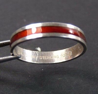 Norway Silver - David Andersen - Enamel Ring - Norweigan